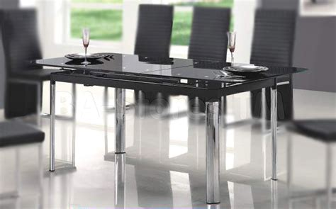 black glass top dining table glass furniture table designs