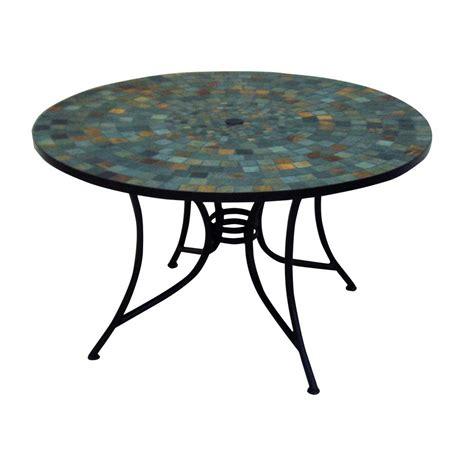 Tile Top Patio Dining Table   Tile Design Ideas