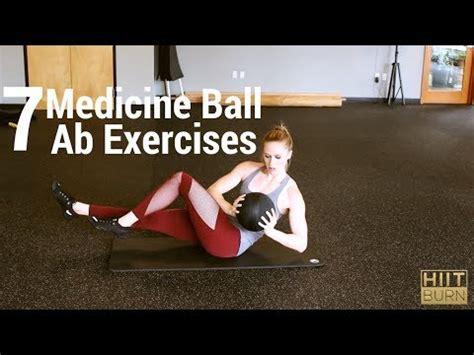 7 medicine ab exercises