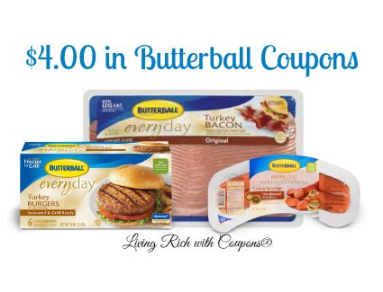 printable butterball turkey coupons butterball coupons 5 00 in butterball coupons living