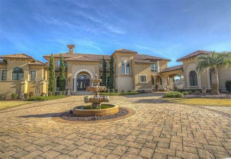 3 45 million mediterranean waterfront home in myrtle