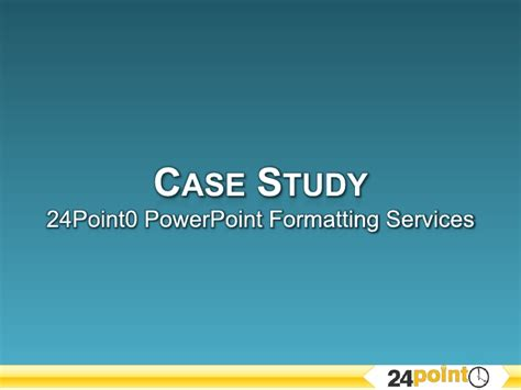 Mba Study Presentation Format by Study Ppt Formatting Services