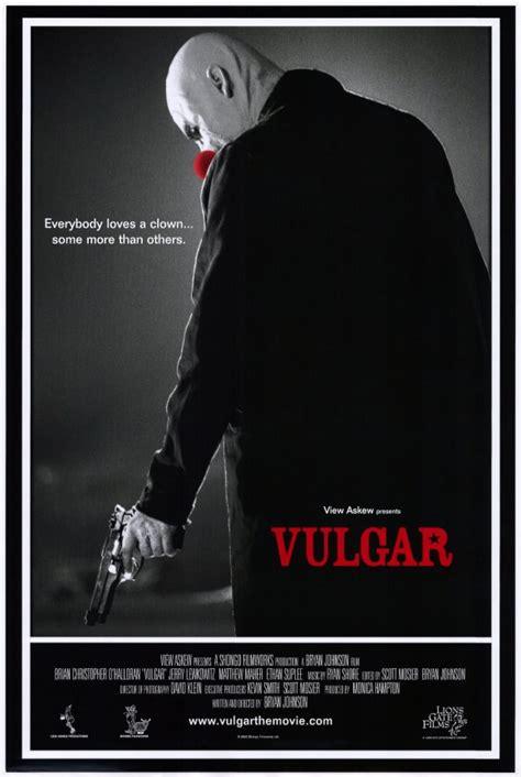 film vulgar vulgar movie posters from movie poster shop