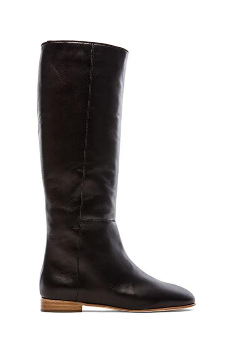 loeffler randall boots loeffler randall marit boot in black lyst