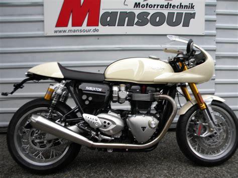 Triumph Motorrad Umbauten by Umgebautes Motorrad Triumph Thruxton 1200r Mansour