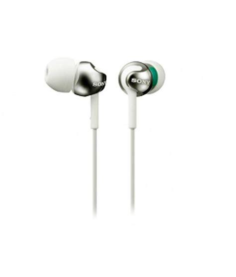 Sony Earphone Mdr E9 Lp White sony mdr ex110lp in ear earphones white without mic