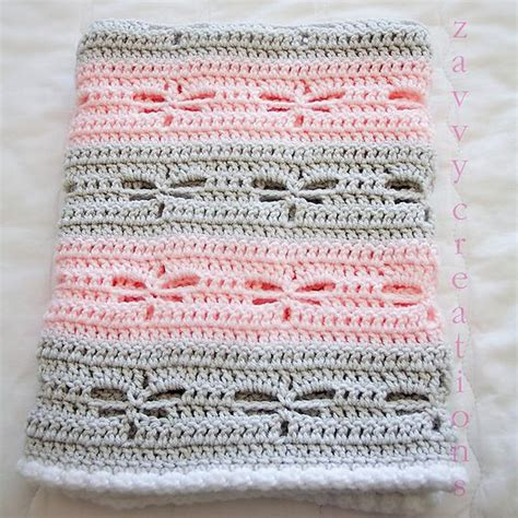 dragonfly knitting pattern ravelry zavvy s dragonfly baby blanket mycrochet
