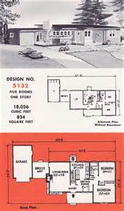 mid century modern home plans design no 5132 by weyerhauser mid century modern home