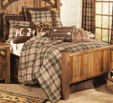 Durango Plaid Comforter Set   King