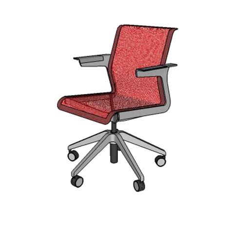Allsteel Task Chair by Allsteel Clarity Task Chair 3d Model Formfonts 3d Models