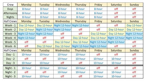Smu Part Time Mba Class Schedule by Search Results For 12 Hr Shift Schedule Exles