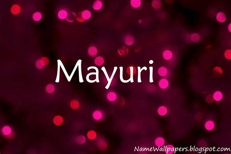 Download Mayuri Name Wallpaper Gallery