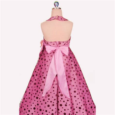 Couture At Its Bestaepink Polka by Gold Dress W Shimmering Gold Polka Dots Dress