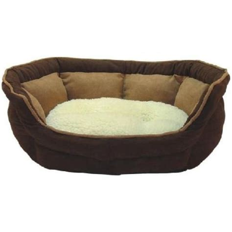 me my luxury soft fleece dog bed small