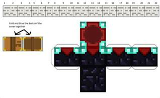 Paper Craft For Minecraft - paper ocelot page 2 minecraft papercrafts