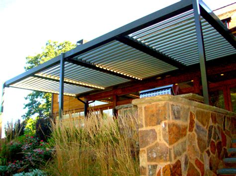 Louvered Patio Roof System by Mjcd Equinox Louvered Roof Systems