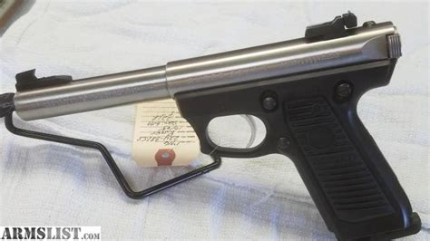 Target Background Check Policy Armslist For Sale Ruger 22 45 Stainless Target Pistol