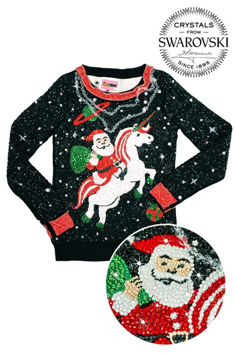christmas themes clothing swarovski crystals shine in the world s most expensive