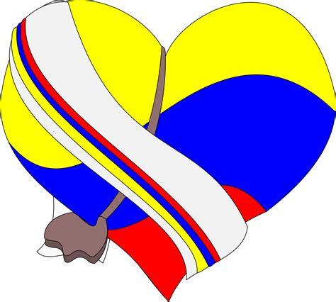 imagenes png video clipart corazon de colombia