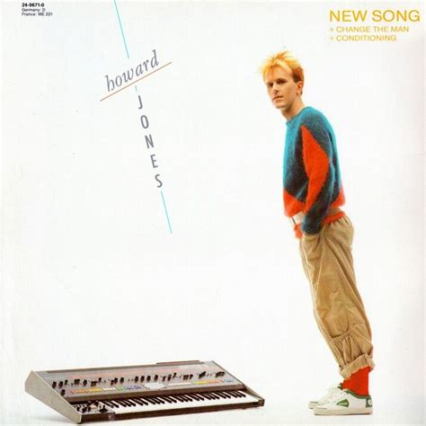 New Single Enough Of Songs by Howard Jones New Song 12 Quot Howard Jones Pictures