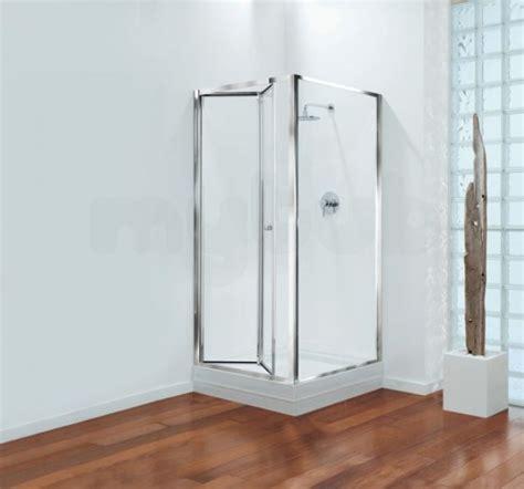Shower Door Brands Center Brand Cbgbbf90cuc Chrome Clear Glass Bifold Shower Door 900mm Wide Wolseley