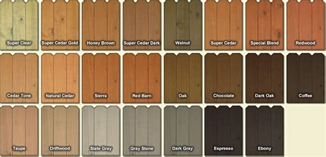 fence  deck stain colors materials   cedar