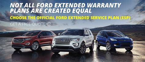 Ford ESP Extended Warranty Endorsed by Ford   FREE QUOTES
