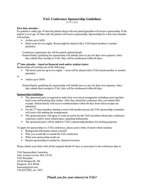 Travel Grant Cover Letter Sle Sponsorship Cover Letter Template Cover Letter Templates