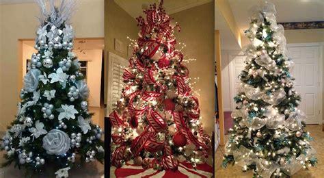 maneras de adornar el arbol de navidad 50 hermosas ideas para decorar tu 225 rbol de navidad en diferentes estilos mujer chic