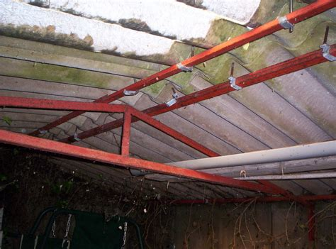 Plumb Centre East Grinstead by Replace Corrugated Roof To Existing Garage Roofing
