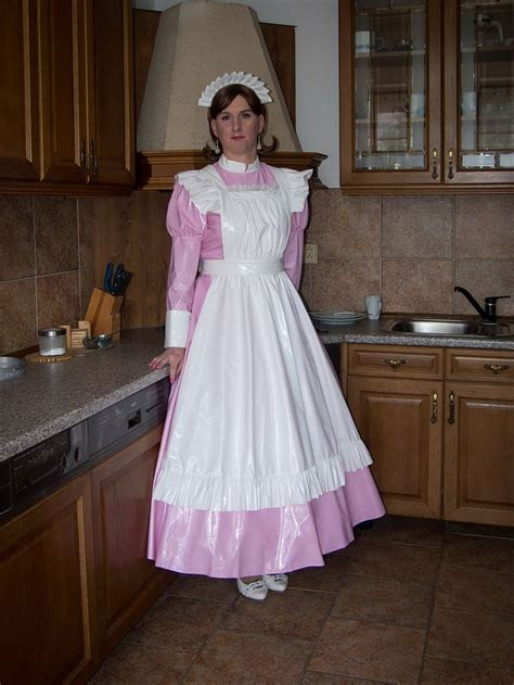 victorian maid and mistress pink housemaid von blackietv latex and pvc cd