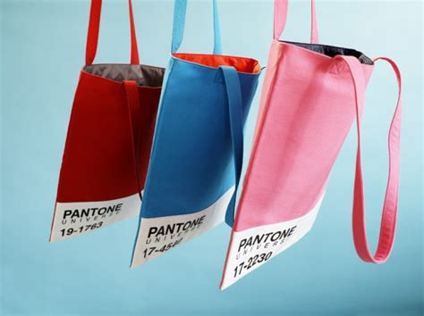 Pms Inspired Totes At Shop Intuition by Pantone Bags Fubiz Media