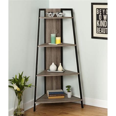 best 25 corner ladder shelf ideas on ladder