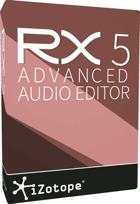 Izotope Rx 5 Advanced izotope rx 5 advanced audio editor upgrade from rx 1 5 advanced sweetwater