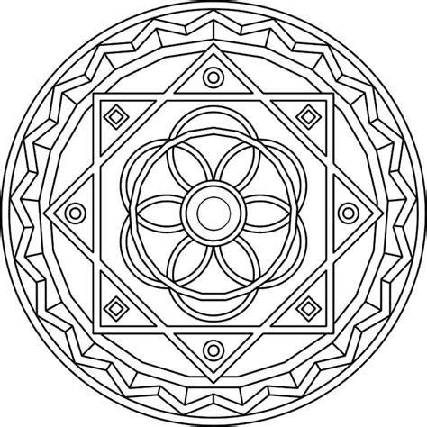 Geometric Coloring Pages Advanced Level Coloring Pages Advanced Geometric Coloring Pages