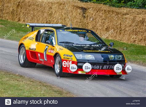1977 Renault Alpine A310 Rally Car At The 2017 Goodwood