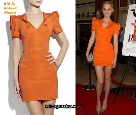 Who Wore Rm By Roland Mourets Moon Dress Better by In Valletta S Closet Rm By Roland Mouret Orange