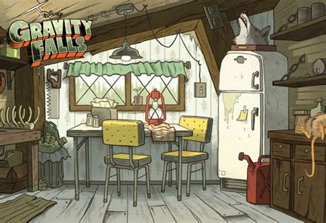 Mystery Kitchen by Image Postcard Creator Kitchen Jpg Gravity Falls Wiki Fandom Powered By Wikia