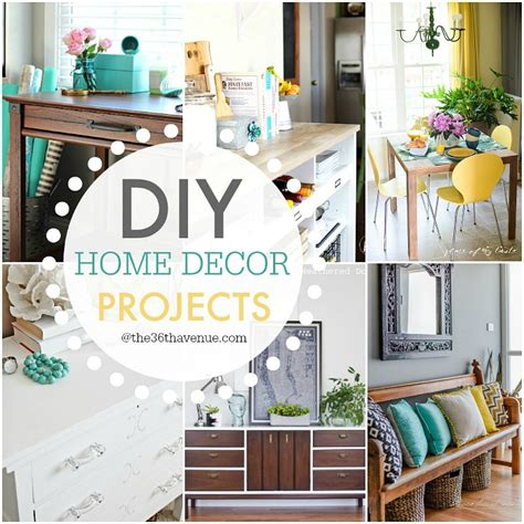 home decor diy projects diy home decor projects and ideas the 36th avenue