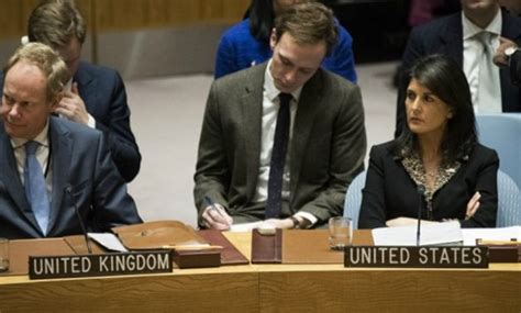 Drew Named As Un Ambassador by Taking Names Us Warns Other Nations Ahead Of Un