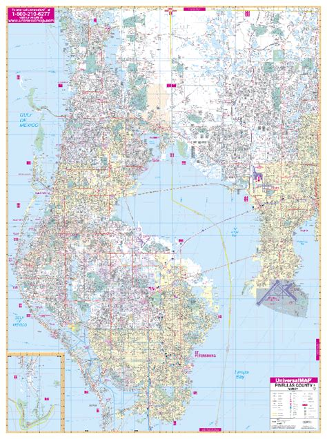 pinellas county florida zip code map florida wall maps national geographic maps map quest rand