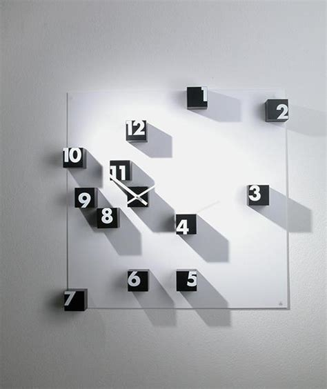 Interior Designed Kitchens Creative Wall Clocks Adding Contemporary Vibe To Modern