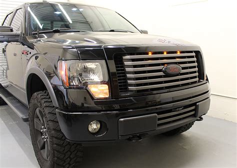 ford raptor grill lights starkey 2009 2014 ford f 150 raptor style grille light kit