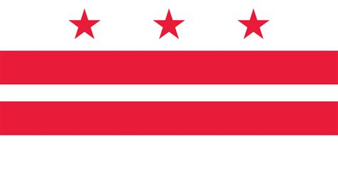 Search District Of Columbia File Flag Of The District Of Columbia Svg