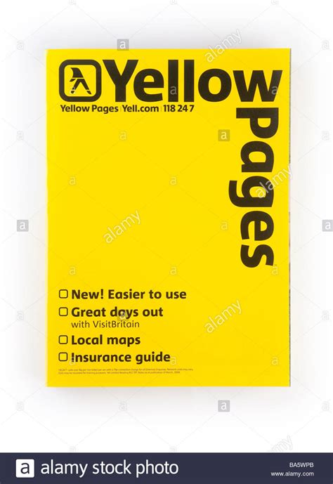 The Yellow Pages Phone Lookup Directory Book Images