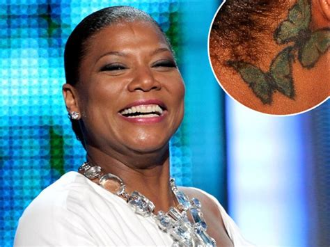 queen latifah tattoo can you guess the star by their body art mamamia