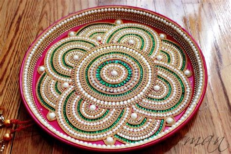 decorative aarti thali pictures pooja thali decorative henna mehndi design thali festive