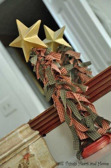 fabric tree christmas crafts pinterest