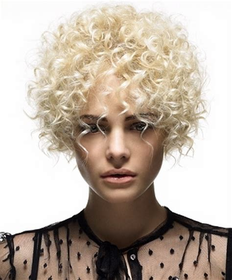 very short permed hair short perm hairstyles