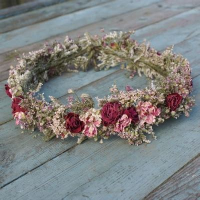Bloom Box Blue Preserved Flower Uk 10 X10 Cm summer dried flower hair crown the artisan dried flower company fradswell staffordshire